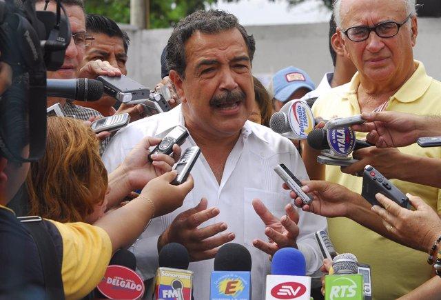 El alcalde de Guayaquil (Ecuador) Jaime Nebot.