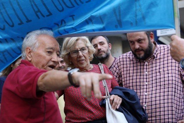 Carmena arranca en Tetuán la segunda vuelta de los distritos
