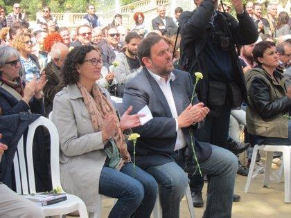 Junqueras oficializa su petición para delegar su voto en Marta Rovira
