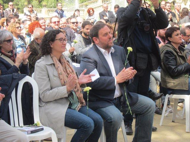 M.Rovira y O.Junqueras, ERC
