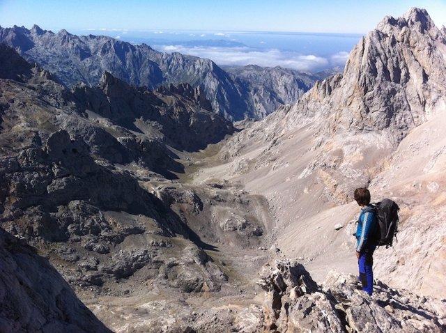Picos de Europa, montaña, alpinismo