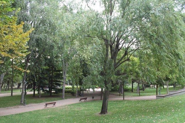 El parque Ribera de Castilla, en Valladolid