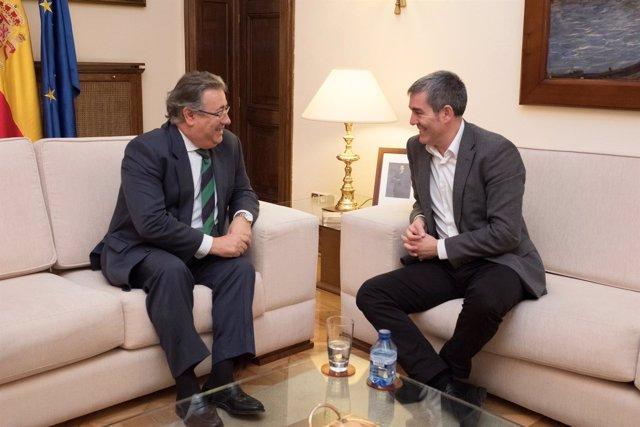 Juan Ignacio Zoido y Fernando Clavijo