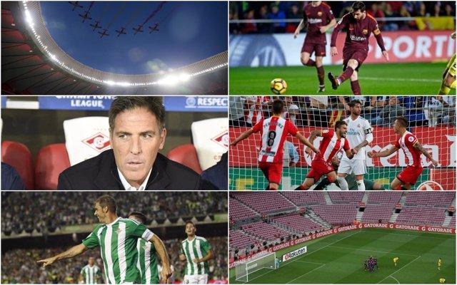Momentos destacados de la primera vuelta en la Liga