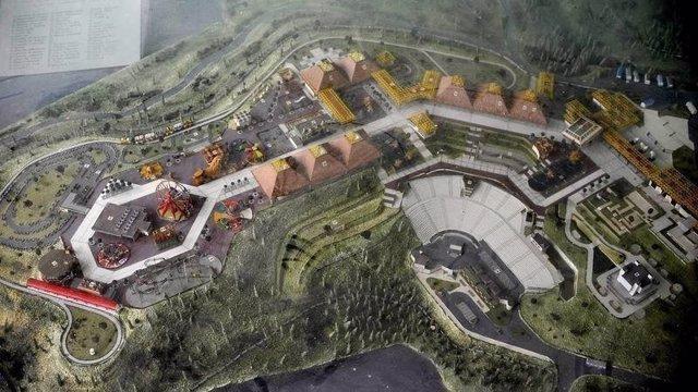 Zona del antiguo Parque de Atracciones