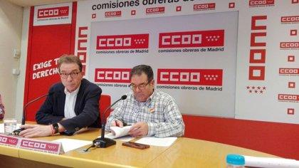 """CCOO pedirá mañana ante el Congreso unas pensiones """"dignas"""" y que el Gobierno """"no fuerce la caída de la pensión pública"""""""