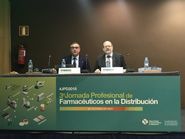 Inauguración jornada de distribución farmacéutica
