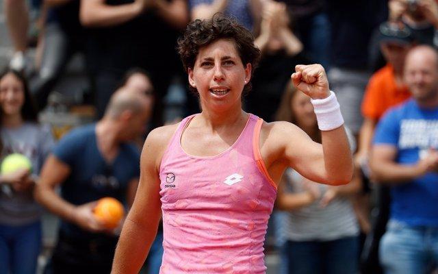 Carla Suárez en Roland Garros