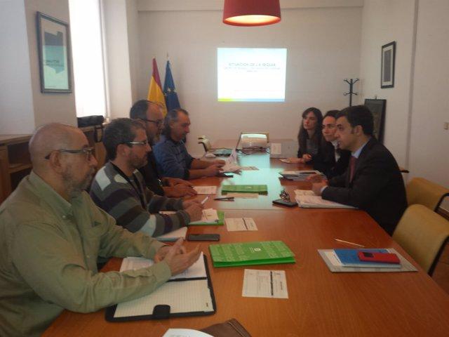 Reunión de UCCL en el Mapama.