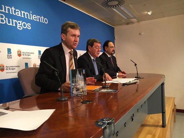 Javier Lacalle, César Rico y Ángel Guerra.