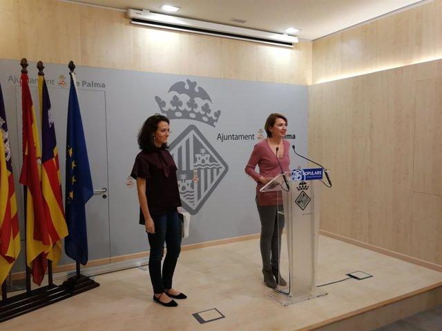 Lourdes Bosch y Margalida Durán