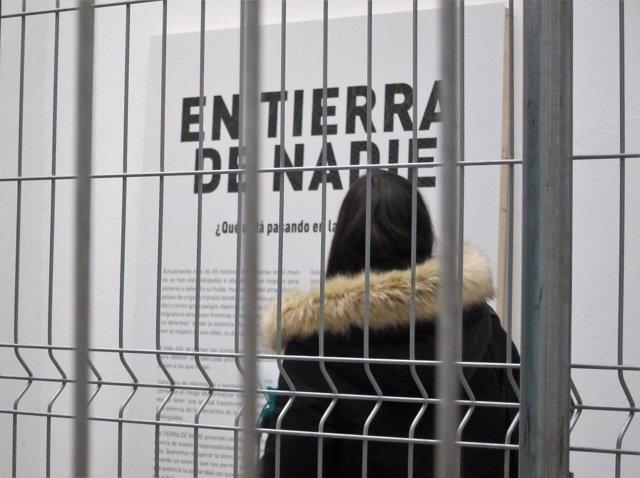"""La exposición 'En Tierra de Nadie' muestra la """"realidad"""" de los refugiados"""