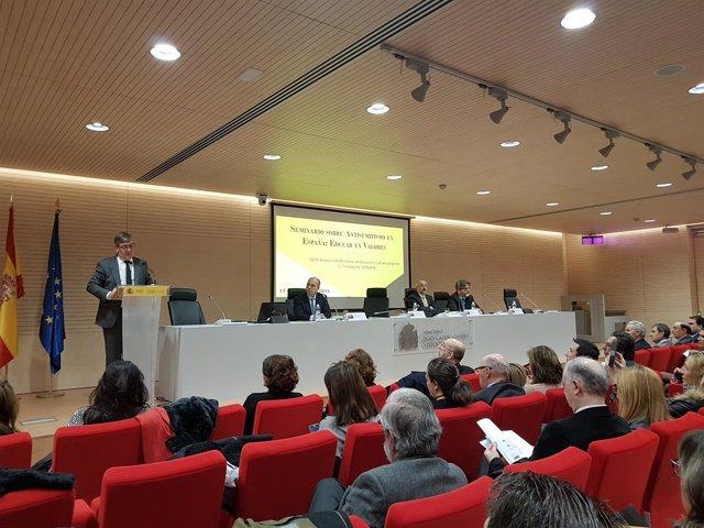 Inauguración del seminario sobre antisemitismo en Madrid