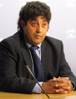 El presidente de la Asociación de Promoción Gitana, Enrique Jiménez Gabarri