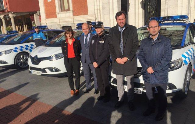Presentación de los nuevos vehículos de la Policía Municipal