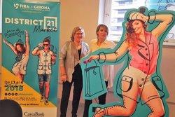 FiraRebaixa de Girona es reconverteix en District 21, un mercat d'hivern que combina descomptes amb concerts i espectacles (ACN)