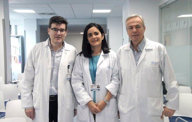 José Acosta Batlle, María Dolores López Parra Y Javier Blázquez Sánchez