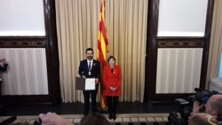 Forcadell felicita la nova Mesa i enalteix Roger Torrent (EUROPA PRESS)