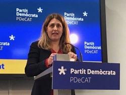 Marta Pascal (PDeCAT) es reuneix amb Carles Puigdemont a Brussel·les per abordar investidura i encaix amb JuntsxCat (EUROPA PRESS)