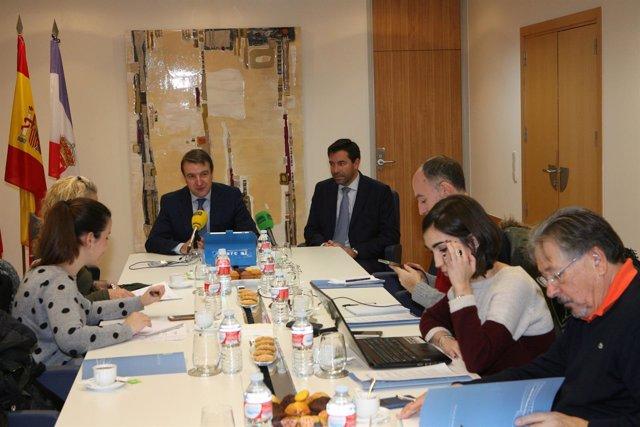 Desayuno informativo con el alcalde de Tres Cantos, Jesús Moreno