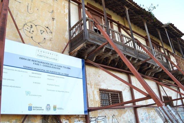 Nota De Prensa Y Fotografías: Puerto De La Cruz Casa Tolosa