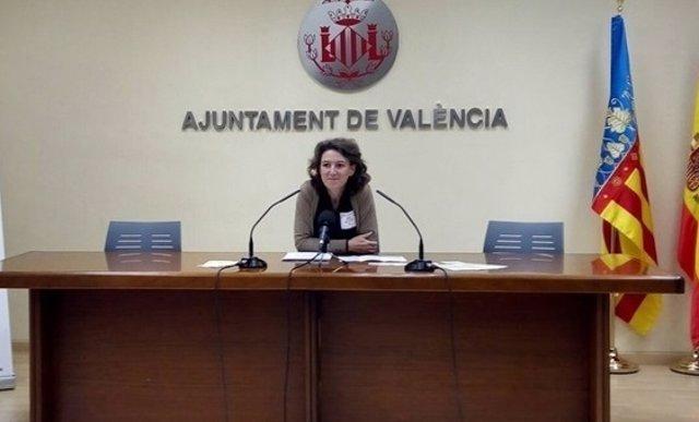 La concejala María Oliver en una imagen de archivo