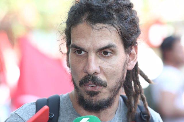 Alberto Rodríguez, diputado de Unidos Podemos