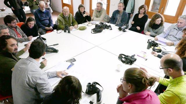 Foto de la reunión