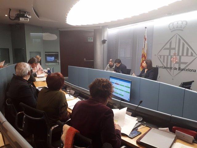 Comisión de Presidencia, Derechos de Ciudadanía y Participación de Barcelona