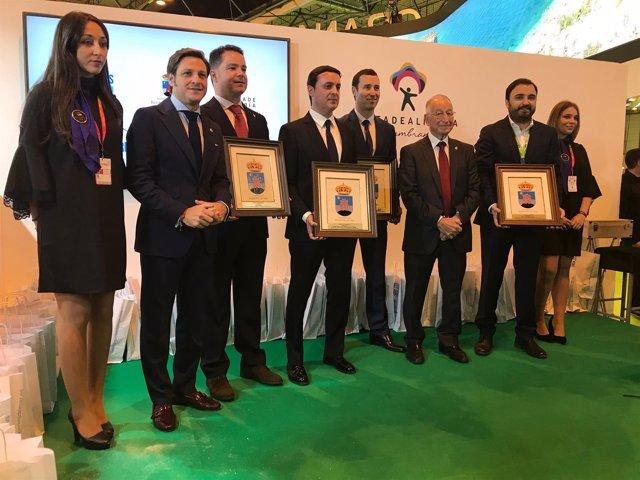 Los Premios 'Castillo de las Roquetas' han alcanzado su 18ª edición en Fitur.