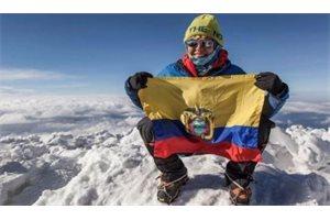 Una ecuatoriana es la primera latina en llegar al Everest sin oxígeno artificial