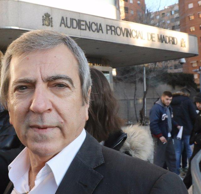 Ginés Jiménez en el inicio del juicio por el Caso Bloque