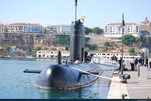 Submarino de la clase S70, al que sustituirá el S80