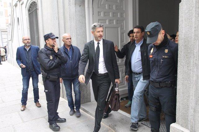 El abogado Andreu Van Den Eynde, que representa a Forcadell