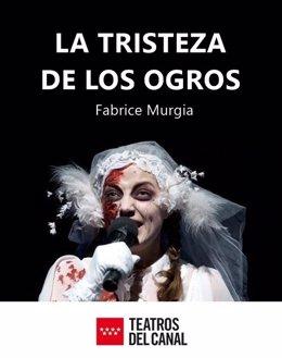 Cartel 'La tristeza de los ogros'
