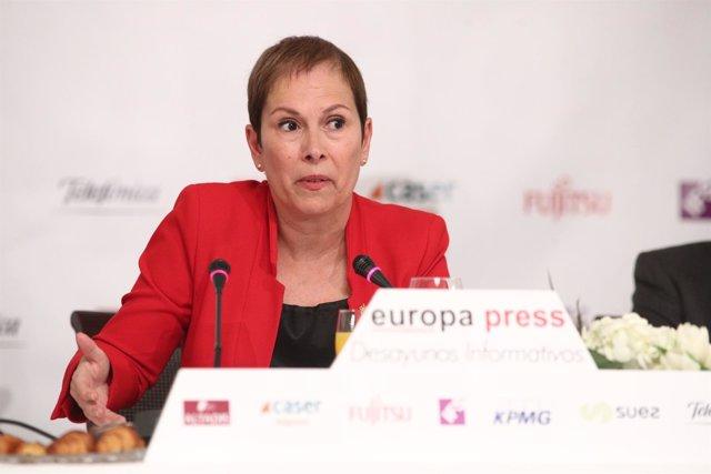 Desayuno Informativo de Europa Press con Uxue Barkos