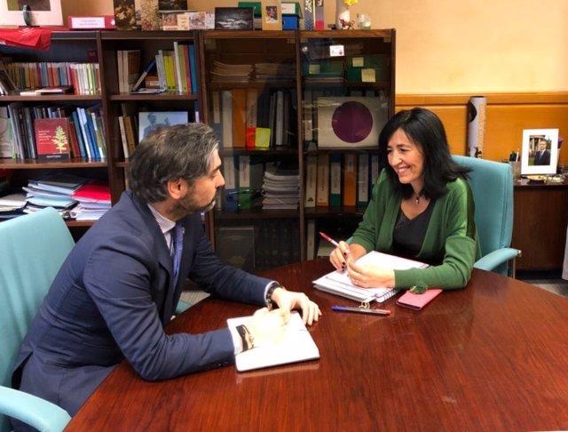 Reunión entre el Gobierno vasco y el Ayuntamiento de Sopela