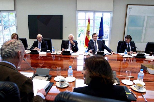 Reunión del Consejo de Política Exterior en 2016