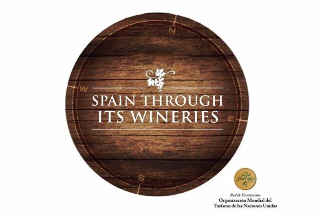 Logo de 'Spain Through its Wineries'