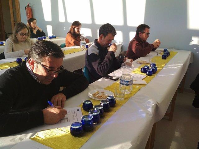 Cata-concurso para elegir los Premios Ardilla 2017/18 de la DO Sierra de Segura.