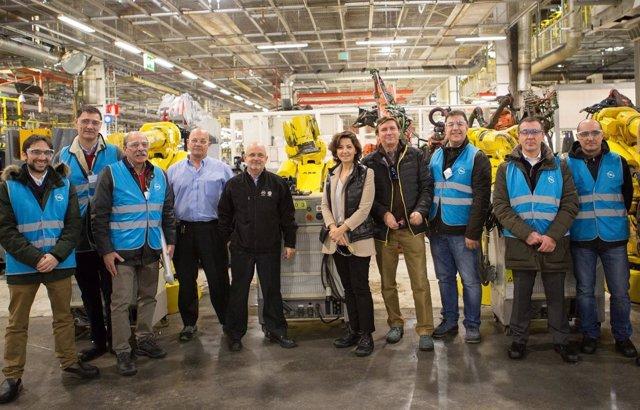 Donación de material de Opel España a cuatro centros de FP