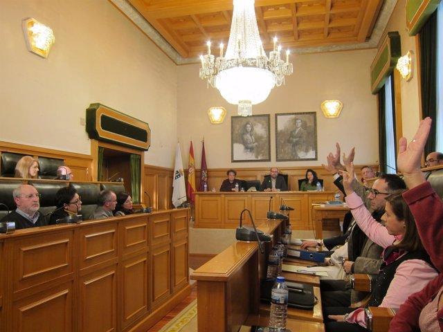 Pleno del Ayuntamiento de Santiago