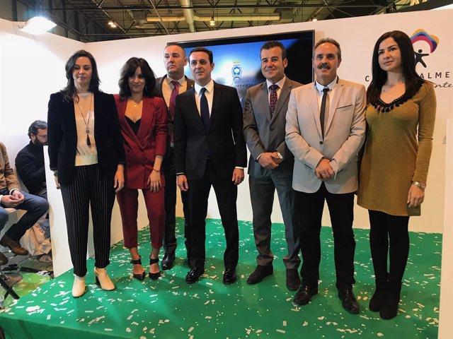 Carboneras presenta en Fitur un vídeo promocional del municipio.