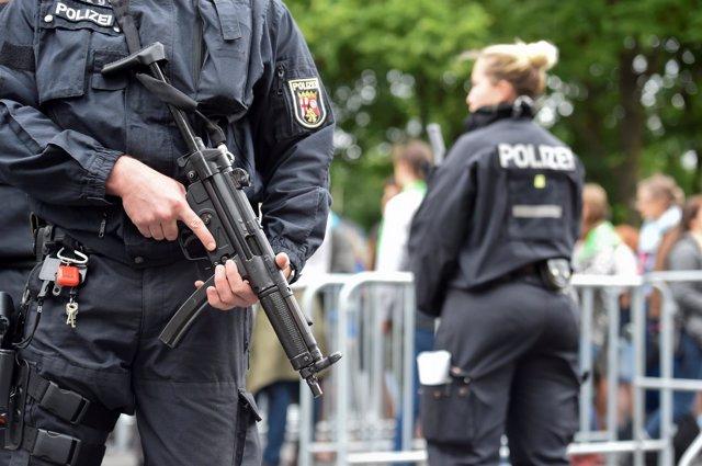 Policía en Berlín
