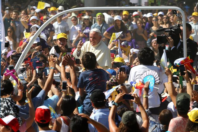 El Papa Francisco en Chile