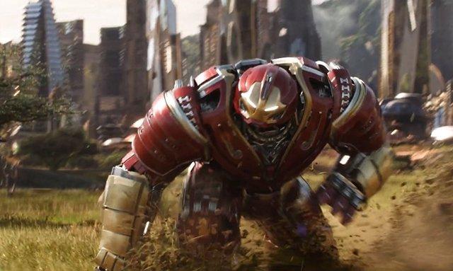 Hulkbuster Vengadores Infinity War