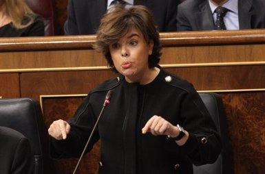 Santamaría demana a Torrent que no violenti la llei perquè Puigdemont només pot ser investit amb una flagrant vulneració (EUROPA PRESS)