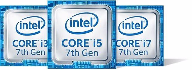 Procesadores Intel Core de séptima generación