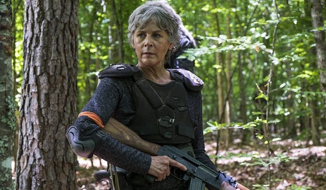 Melissa McBride en 'The Walking Dead'