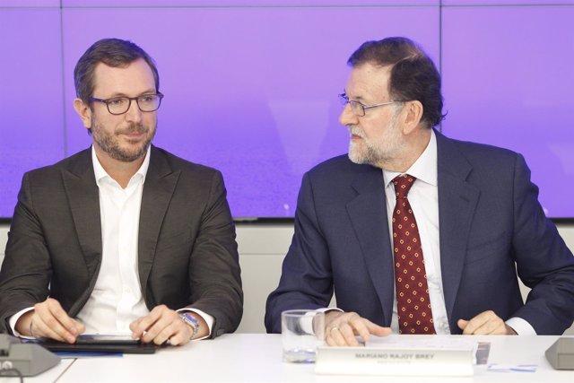 Javier Maroto y Mariano Rajoy